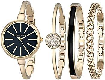 Anne Klein Women's Bangle Watch Set