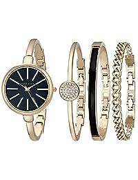Anne Klein AK/1470 Set de reloj y brazalete para mujer