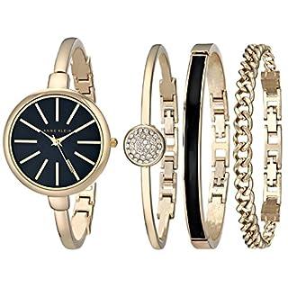 Anne Klein Women's AK/1470GBST Gold-Tone Watch and Bracelet Set (B00DND8XW8) | Amazon Products