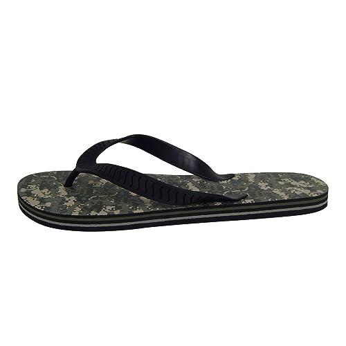 9380377a7bec7a U.S. Army Men s Camo Sandals Flip Flop Thong Camouflage Flip Flops