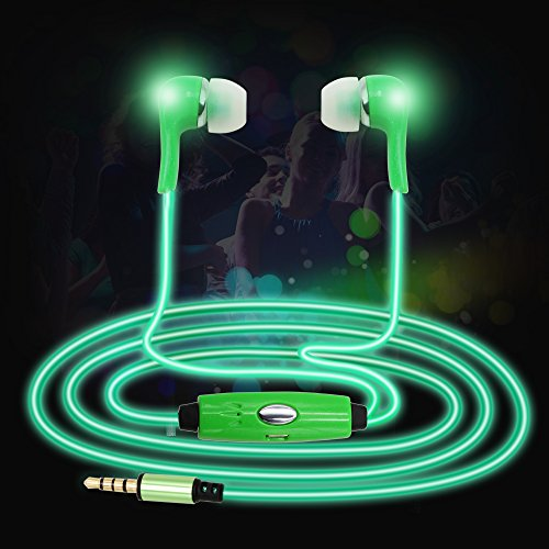 Led Light Fixture Flashing On And Off: Top 10 Best LED Light-Up Glow Earphones Reviews 2017-2018