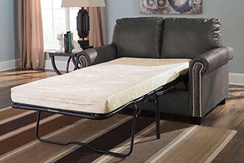 Signature Design by Ashley Lottie DuraBlend Twin Sofa Sleeper Slate