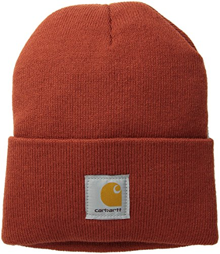 Carhartt Men's Acrylic Watch Hat A18, Chili, One Size]()