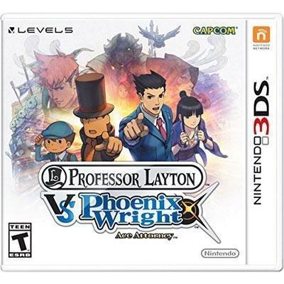 Prof Layton Vs Phoenix Wright by Nintendo