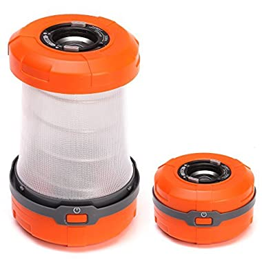 LYNEC Outdoor Camping Lantern Collapsible LED Lantern Flashlight Battery Operated lights for Hiking, Camping, Emergencies, Hurricanes