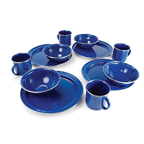 GSI Outdoors Pioneer Table Set - 12 Pieces (BLUE)