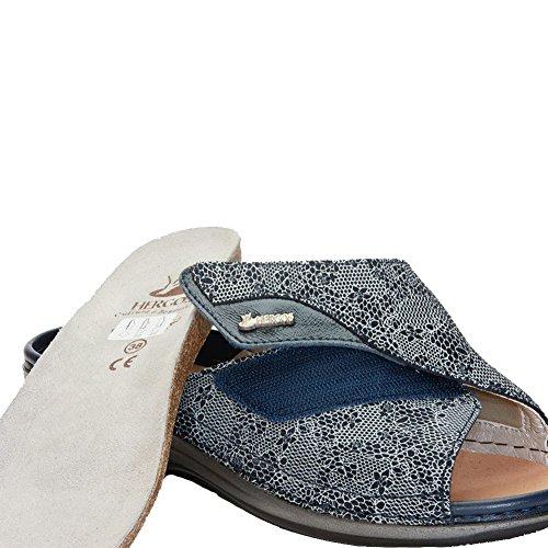 H Juanetes nbsp;calzatura nbsp;piel Nappaflex nbsp;azul Hergos Turquesa 160 Ergonómico Astrid Auténtica nbsp;– Para nbsp;– HdxwpWgq
