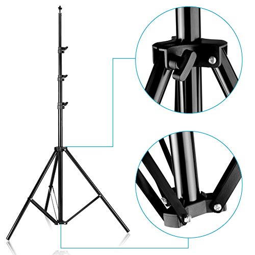 Neewer Photo Video Studio Adjustable Background Stand Backdrop Support System 10x12 feet/3x3.6 Meters and Carrying Bag for Photography (Backdrop Not Included) by Neewer (Image #6)