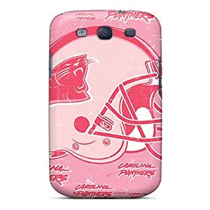 Fashion Tpu Case For Galaxy S3- Carolina Panthers Defender Case Cover