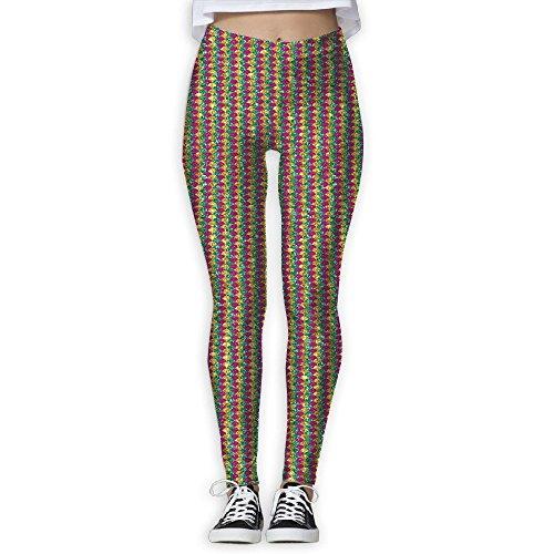 - Mardi Gras Mermaid Women's Activewear High-Waist Tights Leggings Yoga Pants L