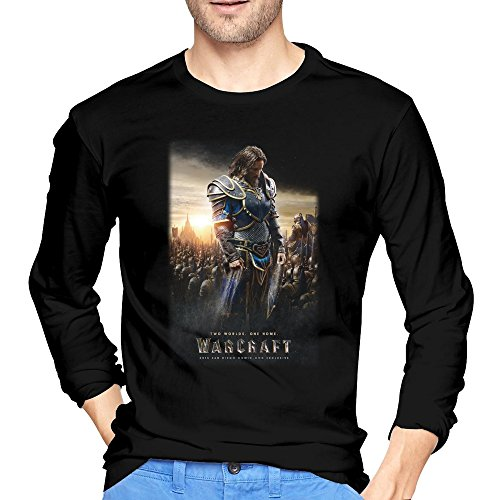 Men's World Of Warcraft Movie Poster T-Shirt