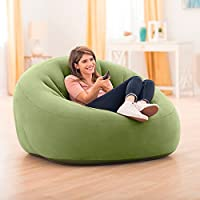 Amazon.com: Intex 68576 - Sillón hinchable sin mangas, 48.8 ...