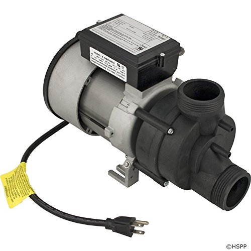 Pump, Bath, BWG Vico WOW, 1.5hp, 115v, w/Air Switch & Cor...