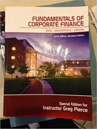 Fundamentals of corporate finance special edition for instructor fundamentals of corporate finance special edition for instructor greg pierce westerfield jordan ross 9780078096464 amazon books fandeluxe Images