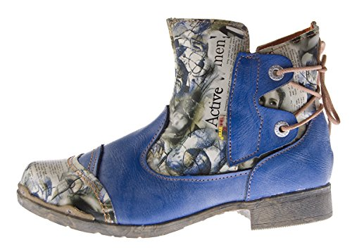 azul TMA Botas Azul Desert Mujer InPq7XwB0