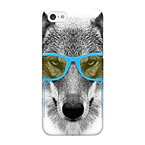 Blue Swag Wolf Full Wrap High Quality 3D Printed Case for iPhone 5C by Gangtoyz + FREE Crystal Clear Screen Protector