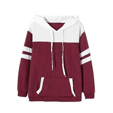 Better F Pullover Mit Kapuze Damen Hoodie Kapuzenjacke Lang