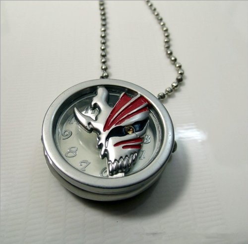 Signet Bleach Kurosaki Ichigo Pendant Watch Pocket Watch Necklace