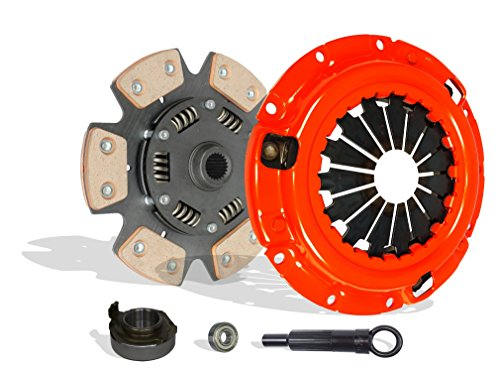 Clutch Kit Works With Mazda B2200 B2000 Mx-6 626 Capri XR2 BASE LE-5 SE-5 DX LX 2.0L l4 2.2L l4 GAS SOHC Naturally Aspirated 1.6L l4 GAS DOHC Turbocharged (Stage 2)