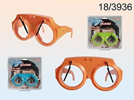 Bs five 4029811301157 - Gafas con parabrisas wiper glasses: Amazon.es: Juguetes y juegos