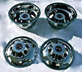 Kyпить A+ 17 Inch Stainless Steel Dually Wheel Simulator Set for 2011 Current GM/Chevy 3500HD на Amazon.com