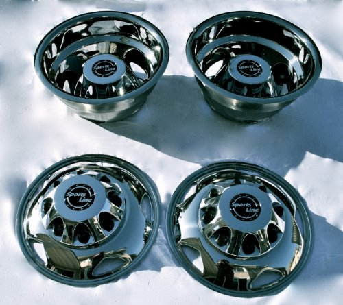 Steel Dually Wheel Simulator Set for 2011 Current GM/Chevy 3500HD ()
