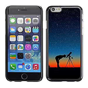 Be-Star Único Patrón Plástico Duro Fundas Cover Cubre Hard Case Cover Para Apple (4.7 inches!!!) iPhone 6 ( Stars In The Night )