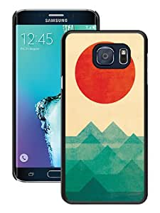Hot Sale Samsung Galaxy S6 Edge+ Case,Ocean The Sea The Wave Black Samsung Galaxy S6 Edge Plus Screen Phone Case Unique and Fashion Design