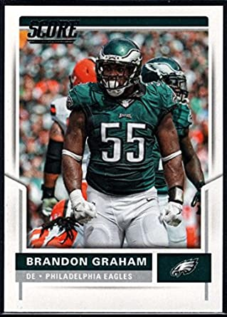 reputable site 5fa05 fcc21 Amazon.com: 2017 Score #251 Brandon Graham Eagles Football ...