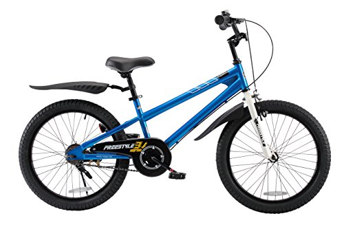 Royalbaby BMX Freestyle Kid's Bike, 20 inch Wheels, Blue
