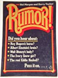 Rumour, Hal Morgan and Kerry Tucker, 0140070362