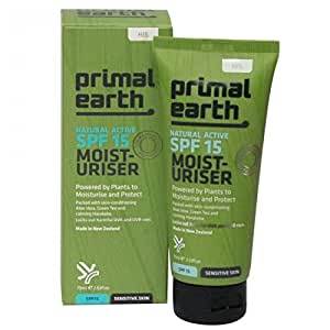 Primal Earth SPF15 Moisturiser, 75ml
