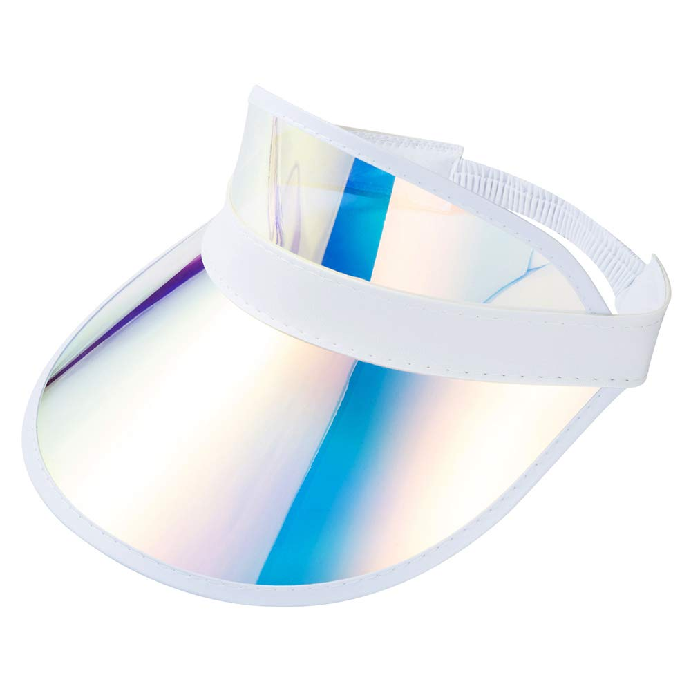 Sun Visor Hats for Women with PVC UV Protection Clear Wide Cap hat Outdoor Sport Summer Beach Caps Sunhat Visors