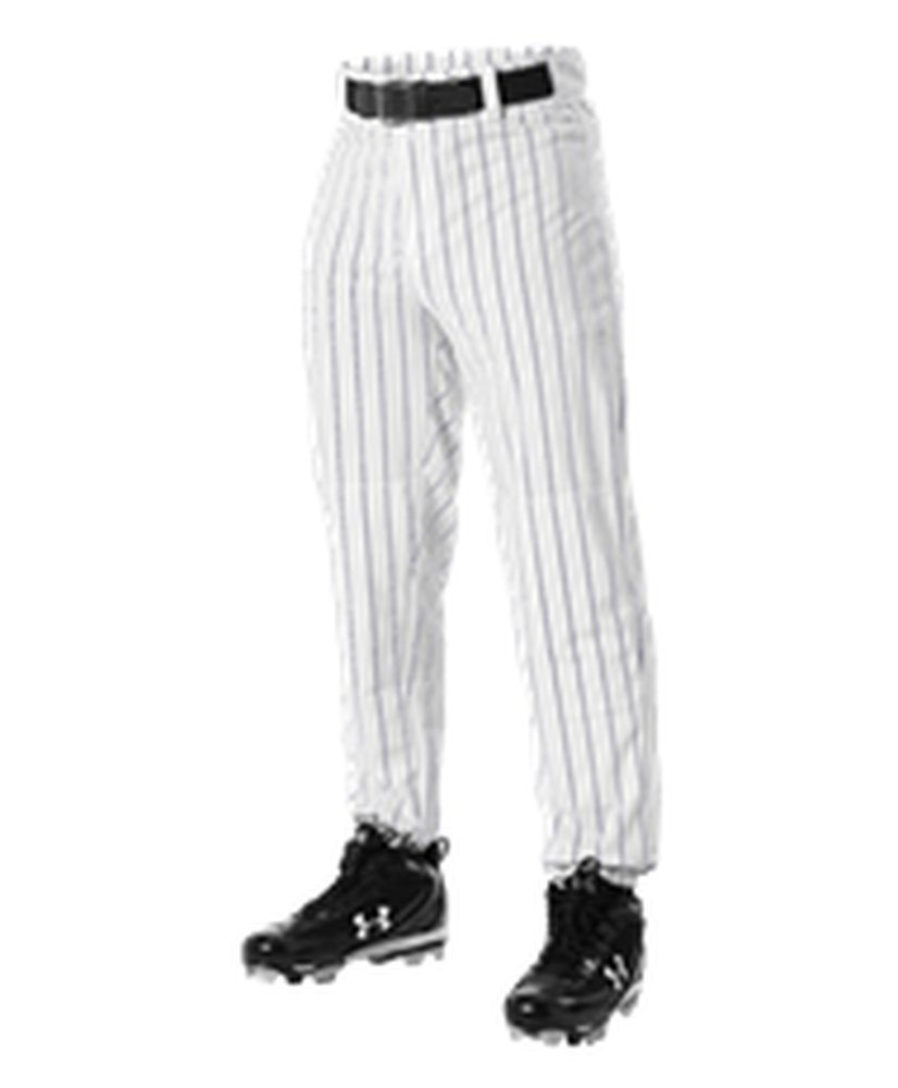 Alleson Athletic PANTS ボーイズ B071GT58PK Small White, Navy White, Navy Small