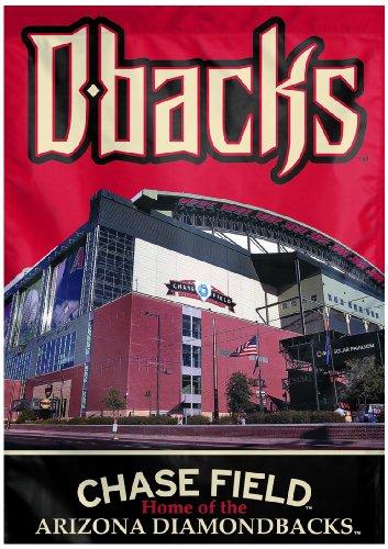 Arizona Diamondbacks Banner - WinCraft MLB Arizona Diamondbacks Two Sided Stadium View Vertical Banner, 28 x 40-Inch