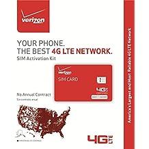 Verizon Wireless SIM Kit Prepaid Sim Card