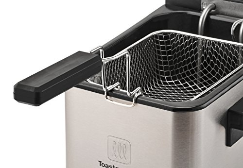 Toastmaster Tm-166df Deep Fryer  2 5 L  Silver
