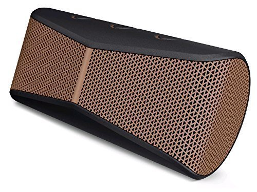 Logitech X300 Mobile Wireless Stereo Speaker, Copper Black (984-000392) (Certified Refurbished)