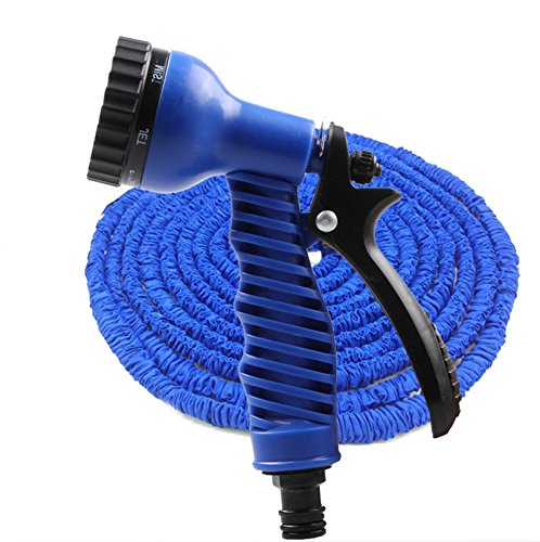 ZLJTYN Car Wash Water Gun Telescopic Hose Set Household High Pressure Brush Vehicle Tool Supplies Water Rush Rush Car Flower Watering Artifact,15 Meters by ZLJTYN (Image #2)