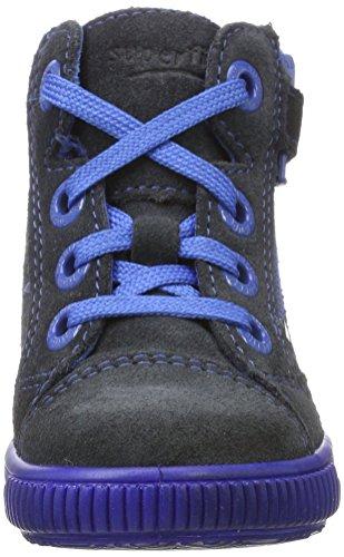 Superfit Moppy - Botas de senderismo Bebé-Niñas Blau (Charcoal KOMBI)