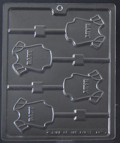 (Baby Onesie Lollipop Chocolate Mold - B062)