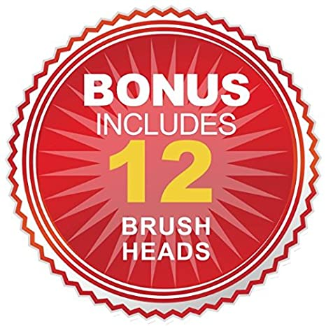 Amazon.com: PURSONIC S520 Zebra Ultra High Powered Sonic Electric Toothbrush with Dock Charger, 12 Brush Heads & More! (Value Pack): Health & Personal Care