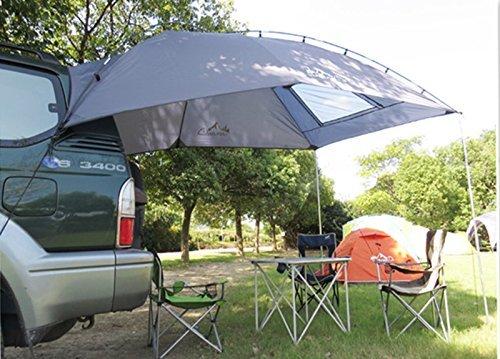 All Venture 6 Person Family Anti-UV Hatchback, SUV, MPV, and Sedan Auto Sun Shelter for Beach Camping and More - Ventura Canopy