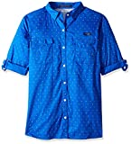 Columbia Women's Super Bonehead II W Long Sleeve Shirt, Blue Macaw Polka Dot, Medium Review