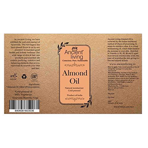 Ancient Living Almond Oil - 100ml