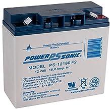 PS-12180 12v 18Ah Lead Acid Battery 12VOLT F2 TERMINAL