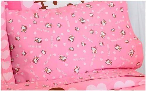 Amazon.com: Hello Kitty rosa hoja Set/mejor vendedor (Full ...