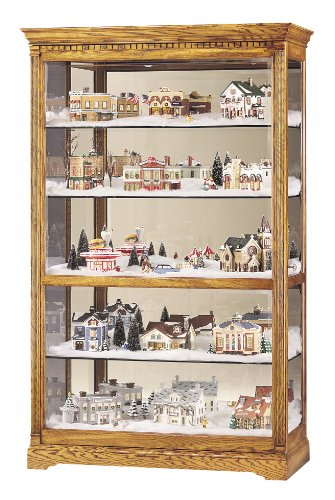 Sliding Door Cabinet Cottage (Howard Miller 680-237 Parkview Curio Cabinet by)