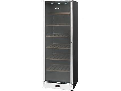 Smeg Kühlschrank Lebensdauer : Smeg scv115s 1 wein klimaschrank b edelstahl glas