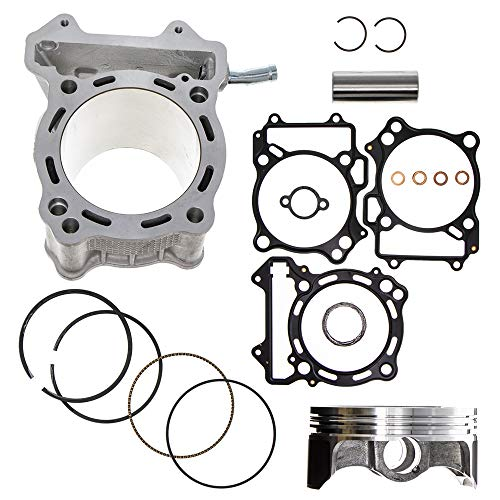 94mm 434cc Big Bore Cylinder Piston Kit For 2000-2015 Arctic Cat Kawasaki Suzuki KFX400 KLX400R SR DR-Z400 LTZ400 400